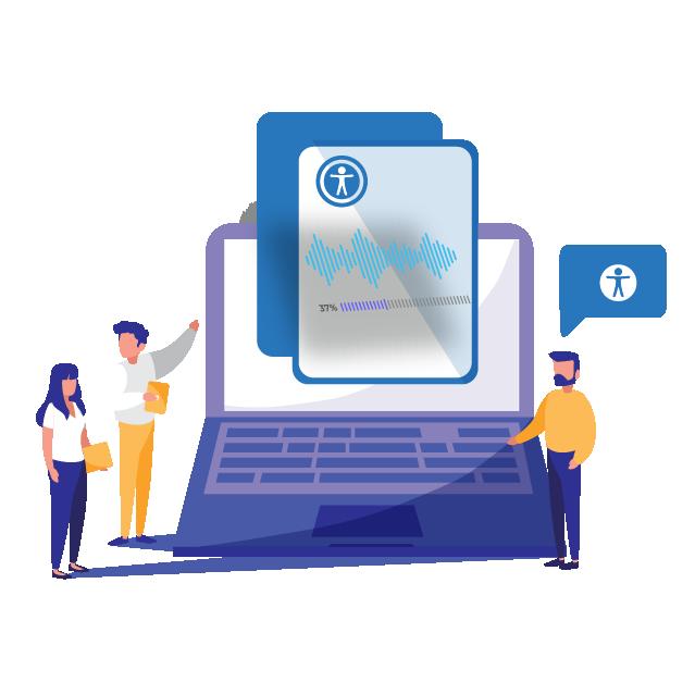 PB DIGITAL מאפשרת להנגיש טפסי PDF ומסמכים ארגוניים אחרים, כמו גם טפסי לקוח, בהתאם לחוק הנגשת מסמכים